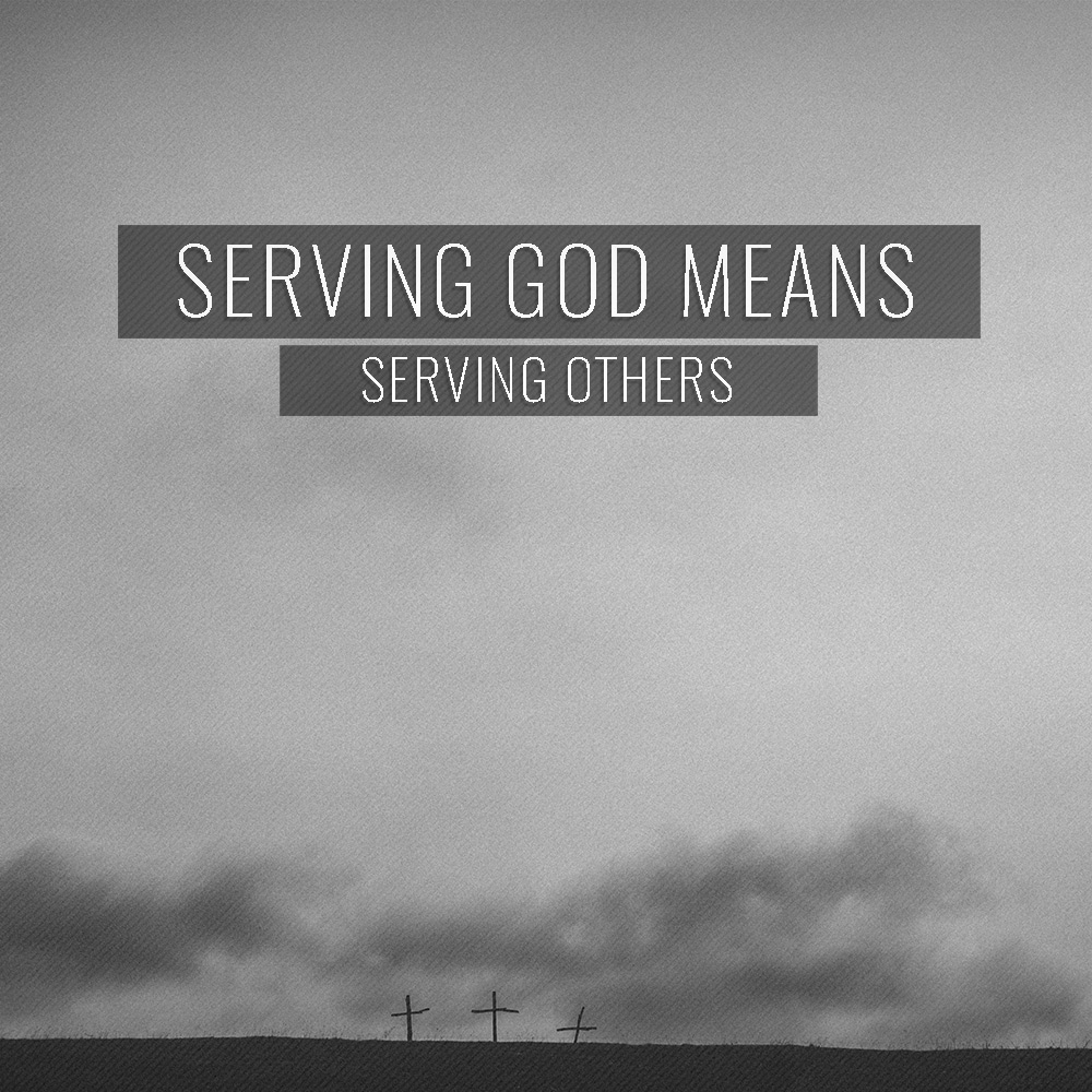 Serving God Image